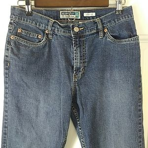 Old Navy five pocket bootcut jeans